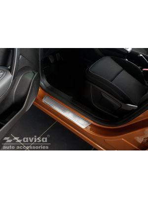 Instaplijsten | Renault | Captur 19- 5d suv. | Lines | 4-delig | RVS rvs zilver