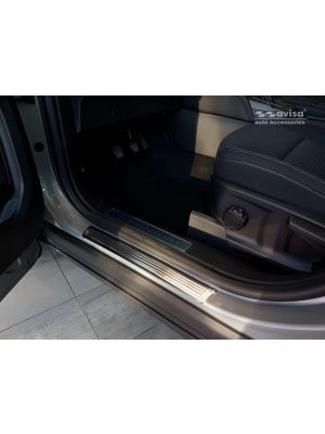Instaplijsten | Ford | Kuga 19- 5d suv. | Lines | 4-delig | RVS rvs zilver
