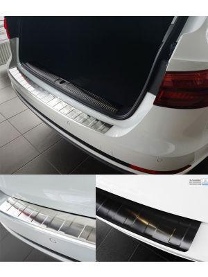 Audi A4 B9 Avant achterbumperbescherming zwart chroom rvs