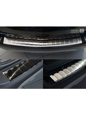 Opel Mokka Achterbumper beschermlijst van AVisa in RVS, in chroom of zwart