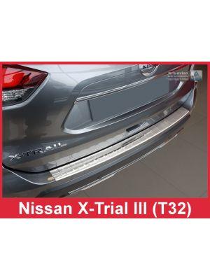 Achterbumperbeschermer | Nissan | X-Trail 17- 5d suv. | RVS