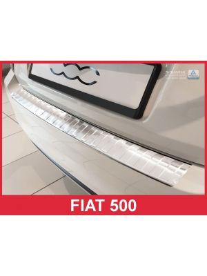 Achterbumperbeschermer | Fiat | 500 15- 3d hat. | RVS