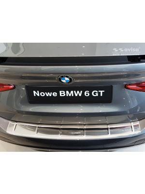 Achterbumperbeschermer | BMW | 6-serie Gran Turismo 17- 5d hat. G32 | RVS