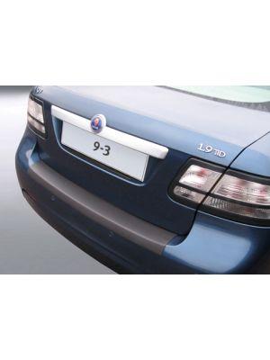 Achterbumper Beschermer | Saab 9-3 Sedan 2007- | ABS Kunststof