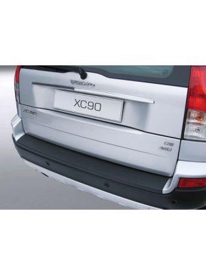 Achterbumper Beschermer | Volvo XC90 2006-2014 (voor gespoten bumpers) | ABS Kunststof