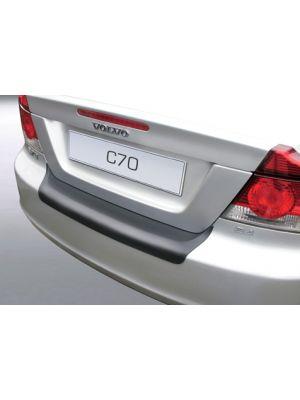 Achterbumper Beschermer | Volvo C70 2005-2009 | ABS Kunststof