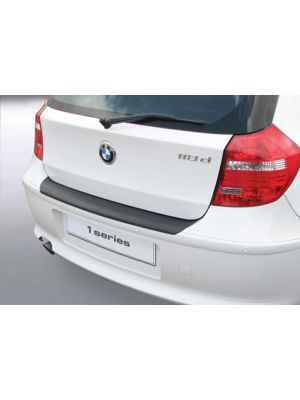 Achterbumper Beschermer   BMW 1-Serie 81/E87 3/5-deurs 2007-2011   ABS Kunststof