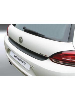 Achterbumper Beschermer   Volkswagen Scirocco 2008-2014   ABS Kunststof