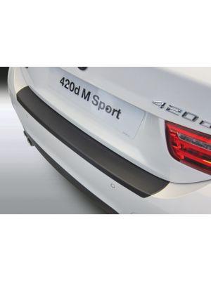 Achterbumper Beschermer   BMW 4-Serie F36 Gran Coupe 2014- 'M-Sport'   ABS Kunststof