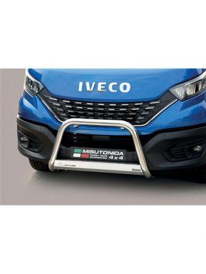 Pushbar | Iveco | Daily 2019- 4d bes. | facelift | RVS CE-keur
