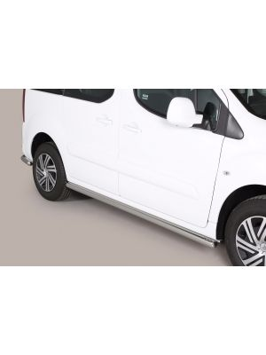 Side Bars | Citroen | Berlingo 08-12 5d mpv. / Berlingo Multispace 12-15 5d mpv. / Berlingo Multispace 15- 5d mpv. | RVS