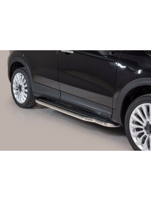 Side Bars | Fiat | 500X 15- 5d suv. | RVS