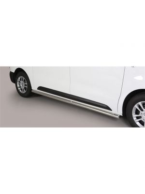 Side Bars | Toyota | Proace 16- 2d bes. / Proace Verso 16- 4d bus. | MWB | RVS