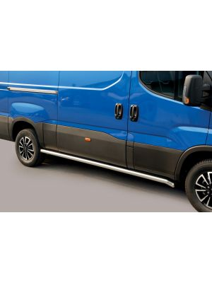 Side Bars | Iveco | Daily 14- 4d bes. | Iveco | Daily 2019- 4d bes. | facelift | MWB | RVS