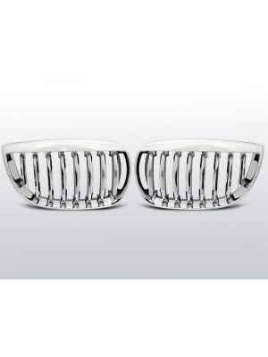 Grille | Nieren | BMW 1 serie E87 2004-2007 | chroom