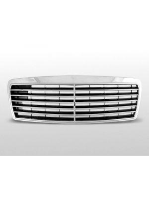 grille set mercedes avantgarde type mercedes e-klasse w210 abs kunststof chroom