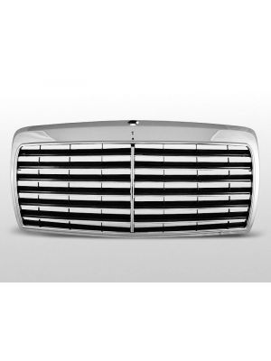 grille avantgarde type mercedes e-klasse w124 abs kunststof chroom