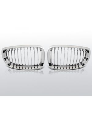 grillen set bmw 1-serie e81/e82/e87/e88 chroom