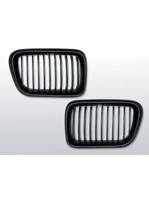 grillen set bmw 3-serie e36 mat zwart