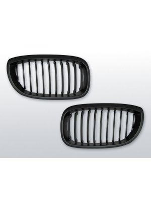 grillen set bmw 3-serie e46 coupe/cabrio mat zwart