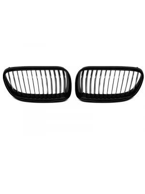 Nieren | BMW | 3-serie Cabrio 10-13 2d cab. E93 LCI / 3-serie Coupé 10-13 2d cou. E92 LCI | ABS Kunststof zwart Glanzend