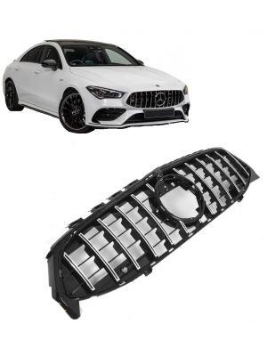 Grill   Mercedes-Benz   CLA-klasse Coupé 19- 4d sed. C118 / CLA-klasse Shooting Brake 19- 5d sta. X118   PANAMERICANA AMG GT Look