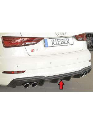Diffuser | Audi | S3 Sedan (8V) / S3 Cabrio (8V) 2016- | ABS | Rieger Tuning