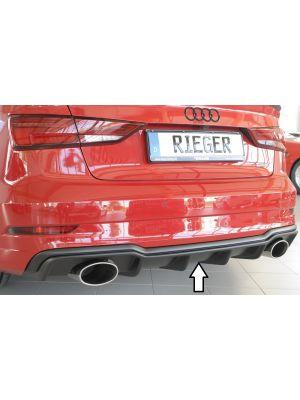 Diffuser | Audi | A3 Sedan (8V) / A3 Cabrio (8V) 2016- / S3 Sedan (8V) / S3 Cabrio (8V) 2016- | S3 & S-Line | ABS | Rieger Tuning