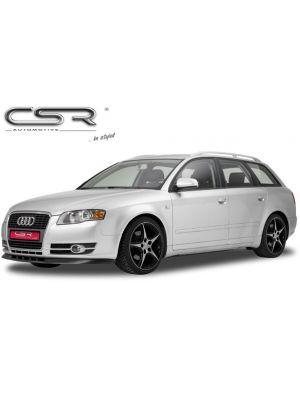 Cup Spoilerzwaard   Audi   A4 04-07 4d sed.  / A4 Avant 04-08 5d sta.  / A4 Cabriolet 05-08 2d cab.    B7   zwart ABS Kunststof
