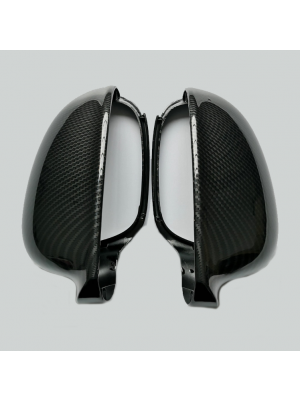 Spiegelkappen   Volkswagen / Skoda   o.a Golf V, Golf Plus, Eos, Jetta, Passat, Sharan, Superb   carbon-look