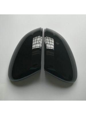 Spiegelkappen | Volkswagen | Arteon 17- 5d hat. / Passat 14-19 4d sed. / Passat Variant 14-19 5d sta. | glanzend zwart