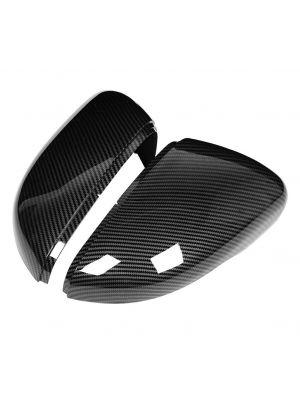 Spiegelkappen   Volkswagen   Golf VI 08-12  / Jetta 11-14 / Touran 10-15   carbon-look