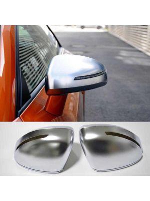 Spiegelkappen |Audi | TT Coupé 06-14 2d coupe / TT Roadster 07-14 2d cabriolet | S-Line | mat chroom