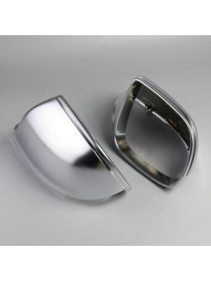 Spiegelkappen | Audi | Q5 08-12 5d suv / Q5 12-17 5d suv / Q7 09-15 5d suv | mat chroom
