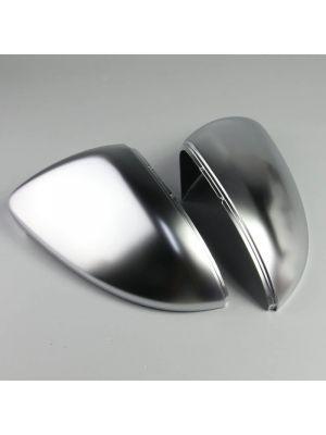 Spiegelkappen | Volkswagen | Golf 12-18 3d hat. / Golf 12-20 5d hat. / Golf Variant 13-17 5d sta. | R-Line Look | mat chroom