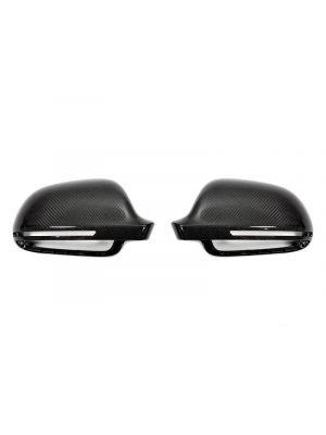 Spiegelkappen | Audi | A3/S3 (8P), A4/S4 (B8), A5/S5 (B8), A6/S6/RS6 (C6), A8/S8 (D3), Q3/RS Q3 | carbon-look