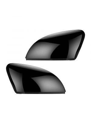 Spiegelkappen | Volkswagen | Polo 09-17 3d hat. / Polo 09-17 5d hat. | 6R 6C | glanzend zwart