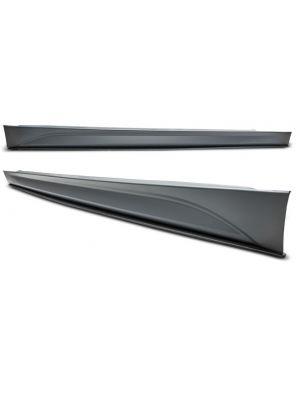 Side skirts voor BMW 3-serie F30 / F31 met side blades onderskirts