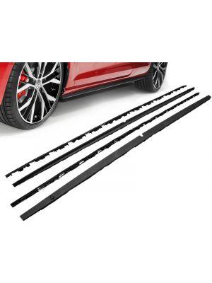 Side Skirts | Volkswagen | Golf 12- 3d hat. / Golf 12- 5d hat. VII / Golf Variant 13- 5d sta. | GTI-Look | ABS-kunststof