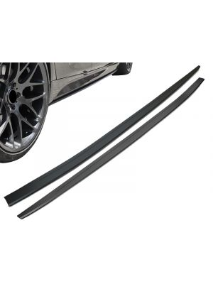 Side Skirts   BMW   5-serie 17- 4d sed. G30 / 5-serie Touring 17- 5d sta. G31   M-Performance Look   Add-on side blades   OEM Look   ABS