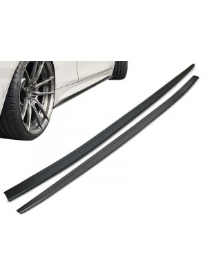 Side Skirts | BMW | 4-serie Cabrio 14- 2d cab. F33 / 4-serie Coupé 13- 2d cou. F32 | M-Performance | Add-on side blades | OEM Look | ABS