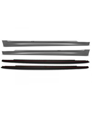 Side Skirts   BMW   5-serie 17- 4d sed. G30 / 5-serie Touring 17- 5d sta. G31   M-Performance Look   OEM Look   ABS