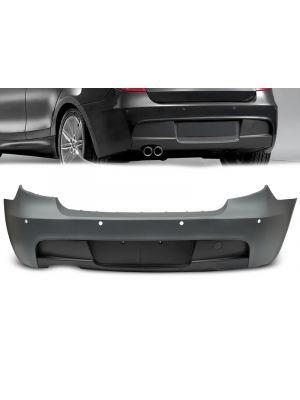 Achterbumper | BMW | 1-Serie E87 2004-2011 / E81 2007-2012 | M-pakket Style | ABS-kunststof