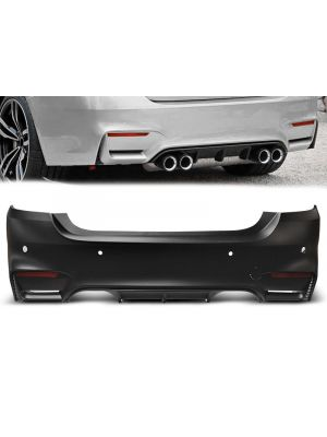 Achterbumper | BMW | 4-serie Cabrio 14- 2d cab. F33 / Coupé 13- 2d cou. F32 | M4-Look | ABS-Kunststof