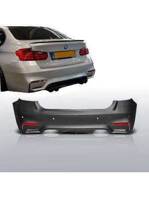 Achterbumper | M3 - Look | BMW 3-serie sedan F30 2012- | ABS Kunststof | met PDC