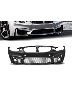 Voorbumper | BMW | 4-serie Cabrio 14- 2d cab. F33 / 4-serie Coupé 13- 2d cou. F32 / 4-serie Gran Coupé 14- 5d hat. F36 | M4-Look | ABS-Kunststof