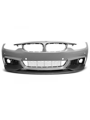 Voorbumper | voor M-Pakket met frontspoiler | BMW 4-serie F32 F33 F36 2013- | ABS kunststof | met PDC en koplampsproeiers