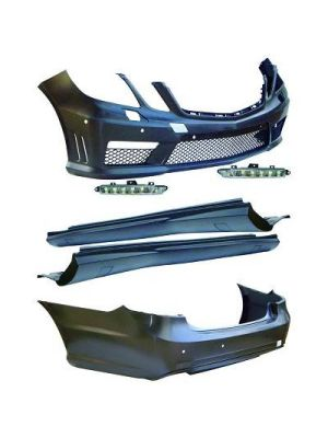 Bodykit | Sport Look | Mercedes-Benz E-Klasse W212 2009-2012 | ABS kunststof | PDC en koplampsproeiers