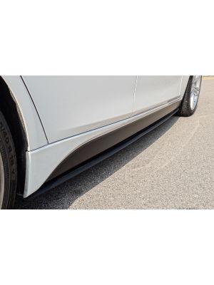 Sticker set links en rechts| voor M-Pakket Side skirts | BMW 3-serie F30 / F31 2012-2018 | mat zwart