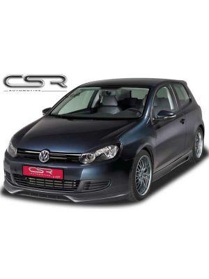 Frontspoiler | Volkswagen | Golf 08-12 3d hat. / Golf 08-12 5d hat. / Golf Variant 09-13 5d sta. | ABS Kunststof